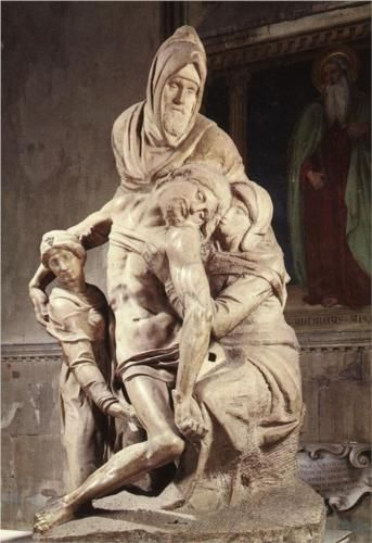 Pieta - Michelangelo 1550 - It's amazing!