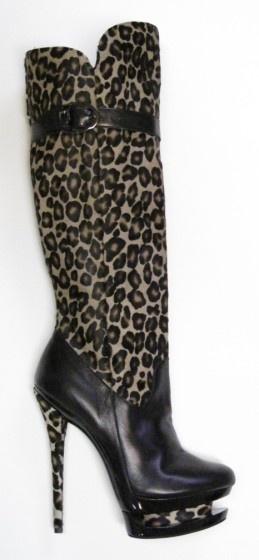 XTC Shoes: Mi Piaci Salima (leopard)