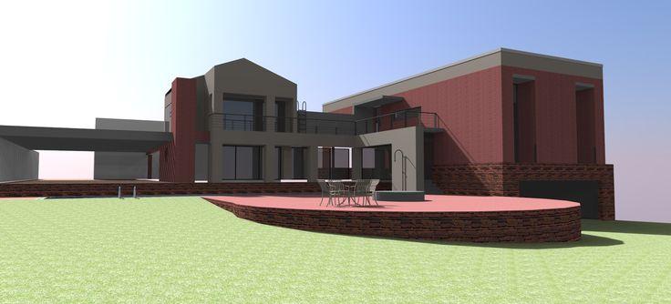 Sketchup model rendering