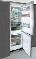 Integrated 24 inch refrigerator / freezer.