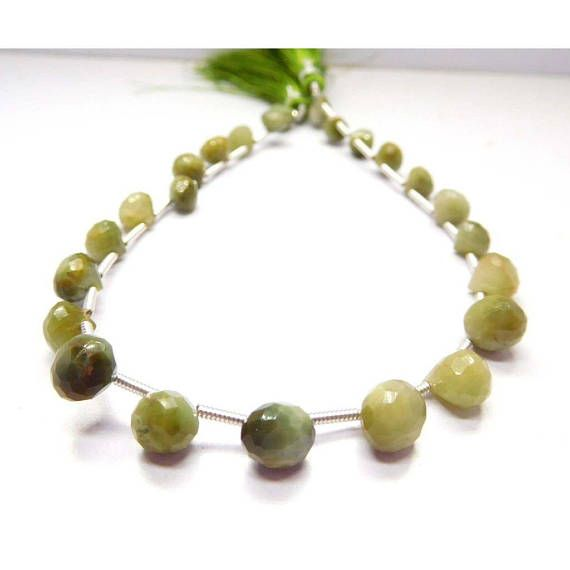 Loose Stone Beads Craft Supply 5-6 Mm 8 Strand Green Cats Eye Faceted Onion Shape Beads Earth Mined Gemstone by BeadsncrystalsStudio https://www.etsy.com/listing/583755299/loose-stone-beads-craft-supply-5-6-mm-8?ref=rss&utm_campaign=crowdfire&utm_content=crowdfire&utm_medium=social&utm_source=pinterest