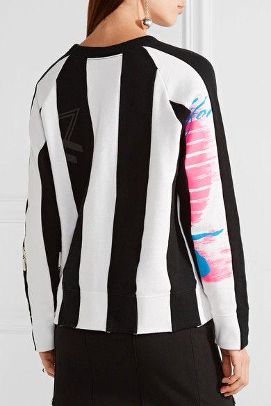 Marc Jacobs - Printed Cotton-jersey Sweatshirt - Black