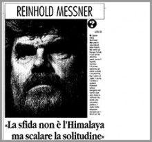 """#ReinholdMessner ha vinto le montagne più alte del mondo e superato i limiti della resistenza umana: """"Serve un'etica nuova, l'alpinismo tradizionale sta scomparendo. Che assurde 250 persone al campo base del K2""""    leggi l'articolo: http://www.accademiamontagna.tn.it/sites/default/files/messner-articolo.pdf"""