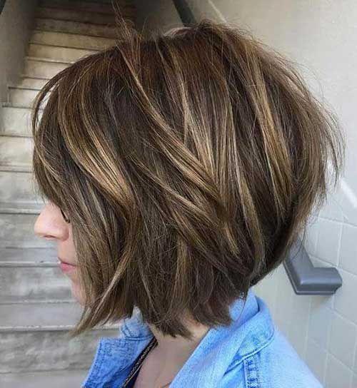 Elegant Bob hairstyles for thick hair