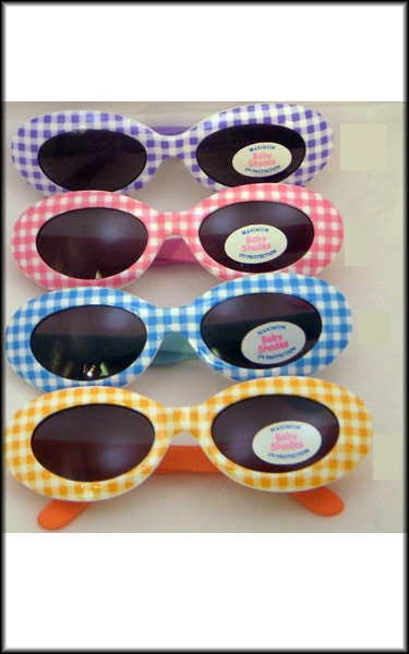 gingham fun for the kids. For Miss Sadie