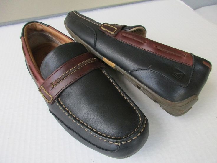 Sperry Top sider men shoes size 9 M Loafers Black #SperryTopSider #LoafersSlipOns