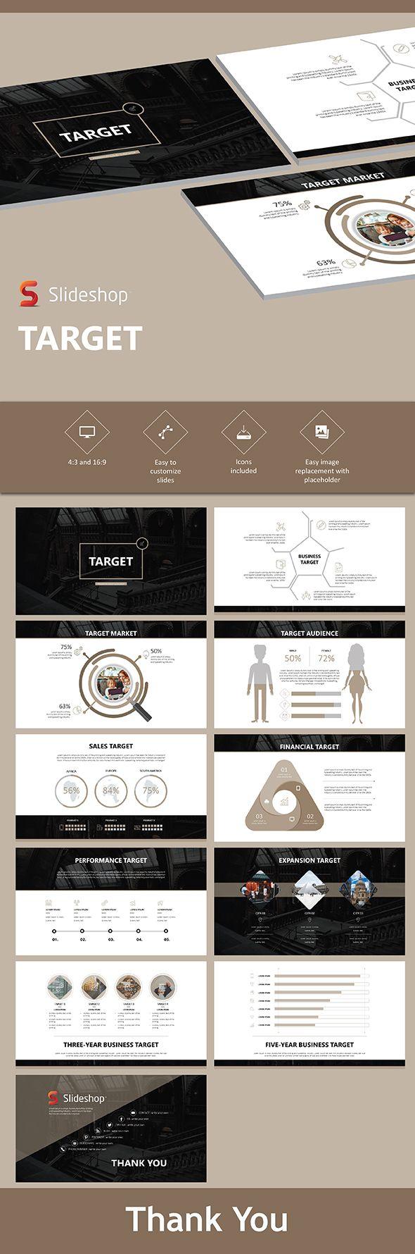 Target - PowerPoint Templates Presentation Templates