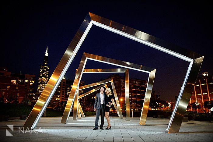West Loop Urban Chicago Engagement Photos! Stephanie & Marek! | Chicago Destination Wedding Photographer - Nakai Photography Blog