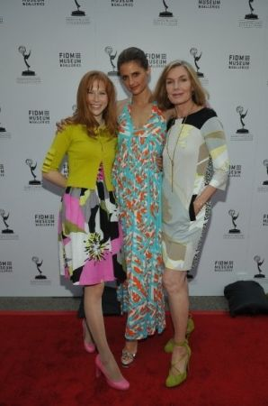 #StanaKatic, Molly Quinn & Susan Sullivan at the FIDM/ATAS opening gala: Outstanding Art of Television Costume Design (2009)