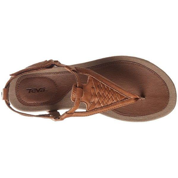 Teva Capri Sandal Women's Sandals ($85) ❤ liked on Polyvore