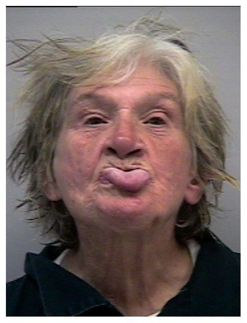 Funny celebrity mugshots