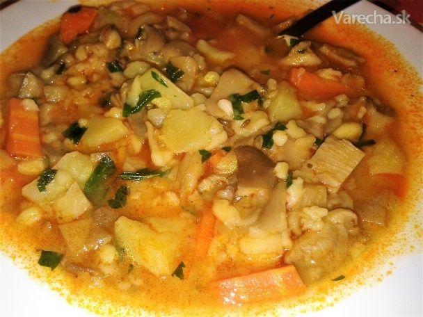 Naša hlivová polievka - Recept