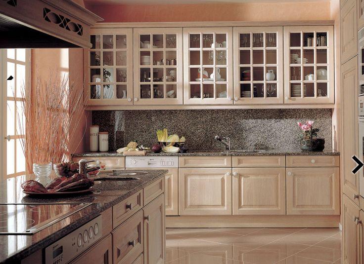muebles de cocina de madera