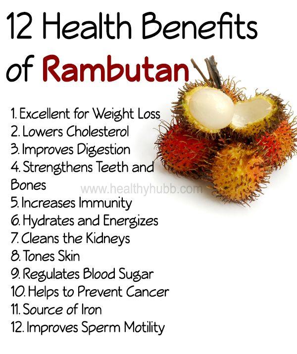12 Incredible Health Benefits of Rambutan! #fruit #wellness #organic #healthy #lifestyle