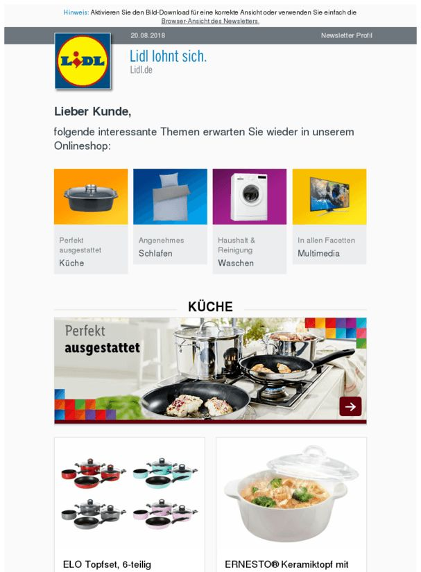 Pin about Lidl, und Shops on Essen & Trinken