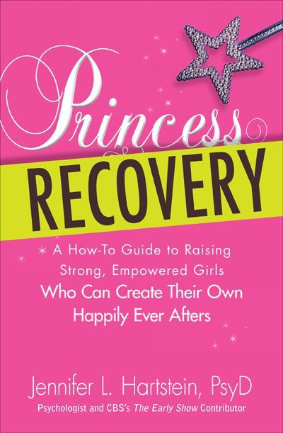 The book explains how to encourage your daughter to be independent and confident. Happily ever after does exist, but it doesn't come from being a size two and marrying into a royal family! Princess Recovery is a must-read for parents. Not only will Dr. Hartstein's steps help you empower your daughter, but she also provides great examples that most mothers can relate to.