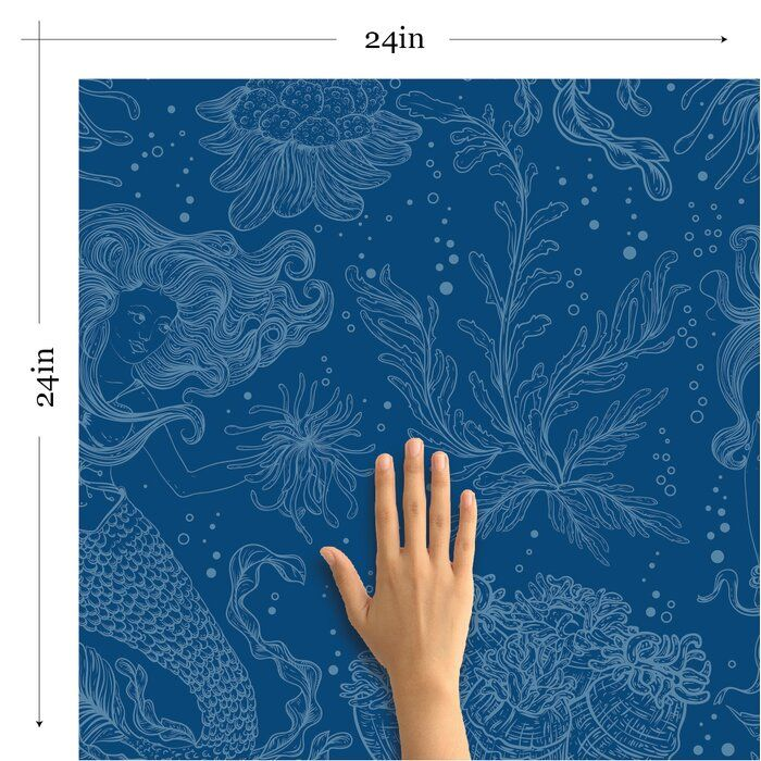 Carlos Nautical Removable Peel And Stick Wallpaper Panel Wallpaper Panels Peel And Stick Wallpaper Nautical Wallpaper