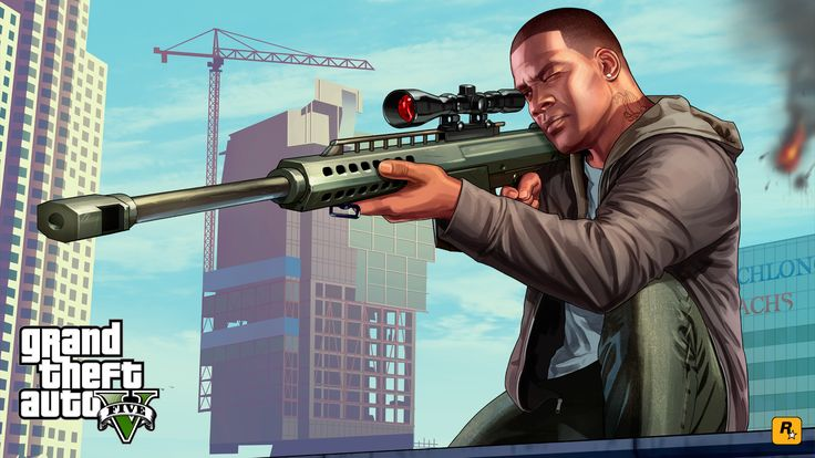 franklin from gta 5 | Two New Pieces of GTA V Artwork | GTA 5 Cheats