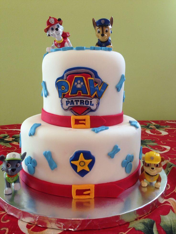 Paw Patrol Cake Boys Birthday Cakes Pinterest Cakes