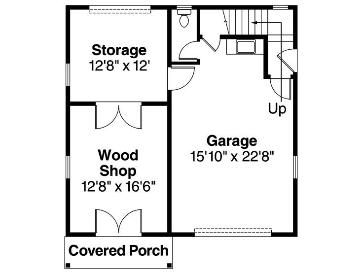17 best images about shop ideas on pinterest 3 car for Garage woodshop plans
