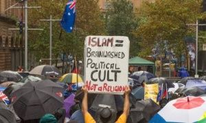 """Opinion piece in today's Guardian about a Reclaim Australia rally. On shape-shifting fragmentary nature of """"racism."""" fucking yuck"""
