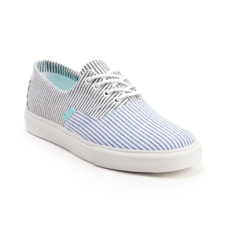 Diamond Supply Diamond Cuts Blue & Black Canvas Boat Shoe at Zumiez : PDP