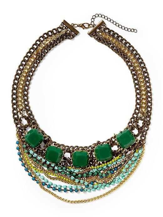 Pim + Larkin Multi Chain Statement Necklace #readyforfall
