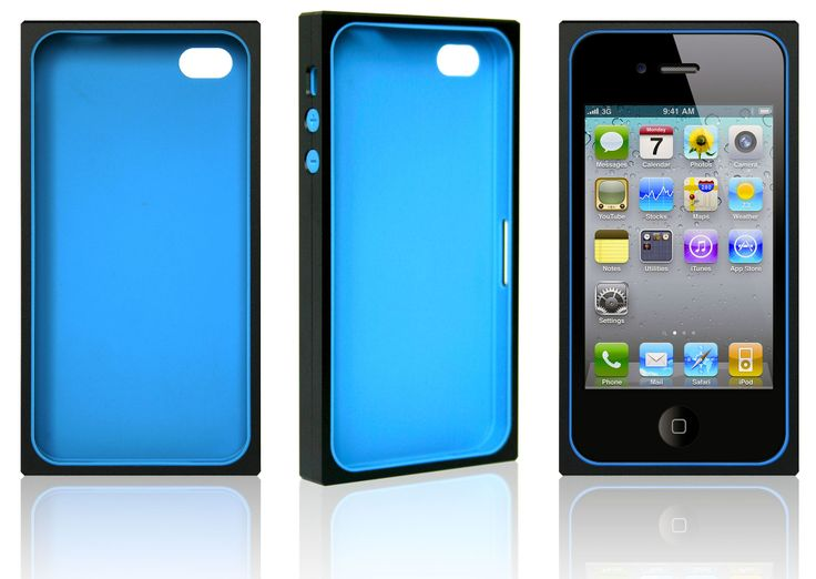 iPhone 4s Aluminium Case (2 Colors) & Rubber Case (8 Colors)