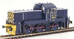 Heljan 1411 Class 14 NCB No. 4 Ashington Blue Livery - OO Scale: Locomotive Diesel & Electric, Class 14.  Your Price: £110.46 MRP: £129.95 Save £19.49 (15%)