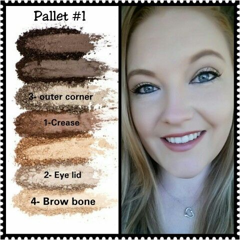 Younique Eye Pallet #1 http://www.youniqueproducts.com/luluslovelylashes