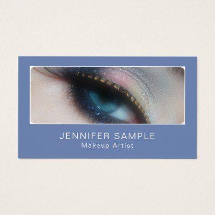 Makeup Artist Cosmetologist Elegant Professional Business Card