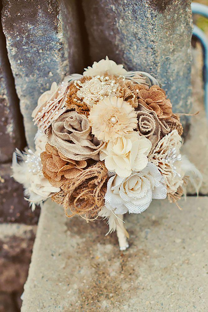 18 Chic Rustic Burlap & Lace Wedding Decor Ideas ❤ See more: http://www.weddingforward.com/lace-wedding-decor-ideas/ #weddings #decorations