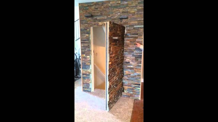 You have to see what is hidden in this feature wall!