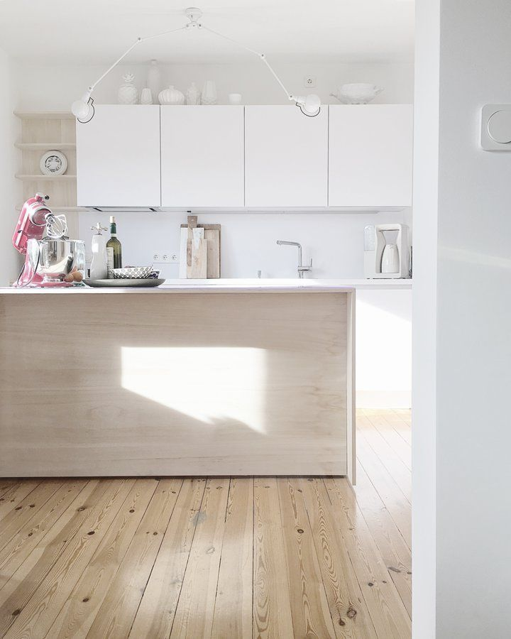 311 best #Küche images on Pinterest Apartment ideas, At home and - küche weiß mit holz