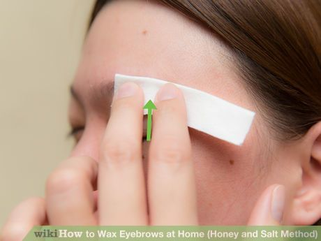 Image titled Wax Eyebrows at Home (Honey and Salt Method) Step 7