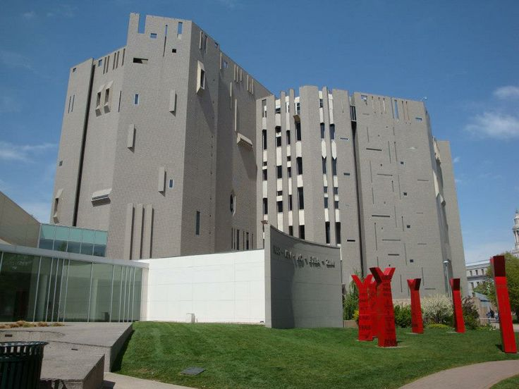 Denver Art Museum (North Building, designed by Gio Ponti and James Sudler.)