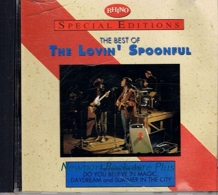 Best of LOVIN' SPOONFUL Rhino Special Edition 1994 CD John Sebastian 60s Rock…