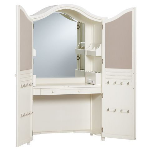 Vanity Armoire This Is Exactly What I Need For The Guest