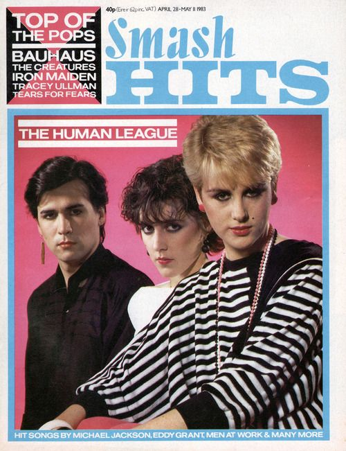 The Human League / Smash Hits - May 1983. Bought Smash Hits religiously every week.
