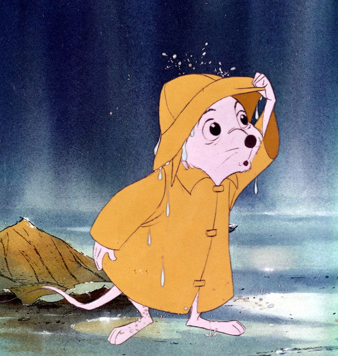 Bernard from The Rescuers