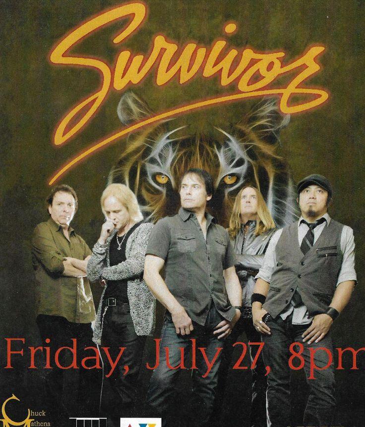 Survivor Band-Kiss FM WVVA Concert Promotion Flyer From Radio Station 2012 #Flyer