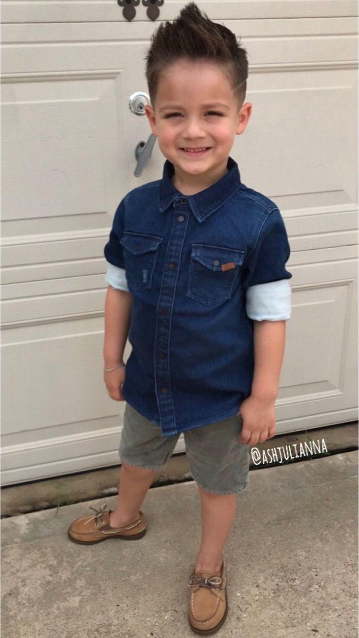 Little boy #style / #mohawk #haircut