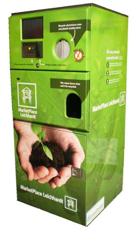 Envirobank - Insert your empty bottles or cans to receive vouchers or win…