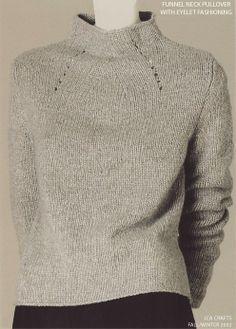 JCA Crafts--Full Fashioned Pullover