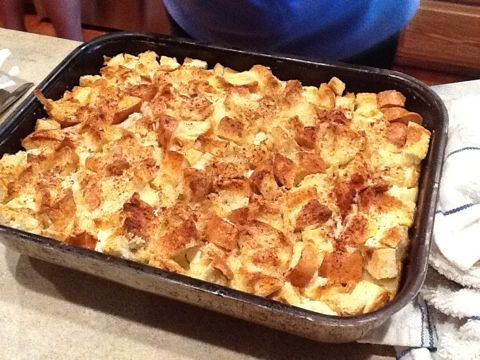 Baked French Toast: Christmas morning breakfast?