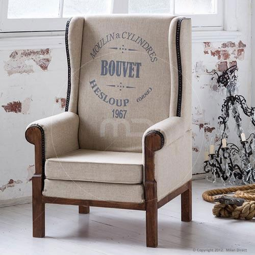 Industrial Arm Chair - Bouvet