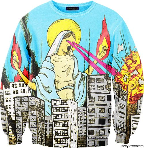 sexy sweaters godzillapromised