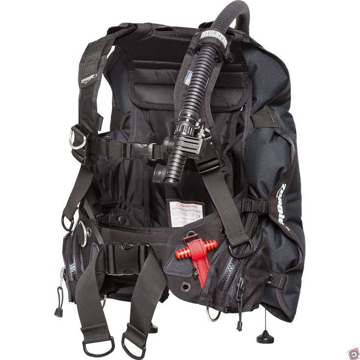 The Zeagle Stiletto Scuba BCD is ideal for recreational diving and travel without compromising on features.