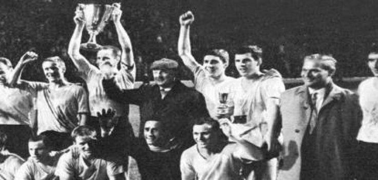 5. Mai 1966: Borussia Dortmund gewinnt als erste deutsche Mannschaft einen Europapokal.