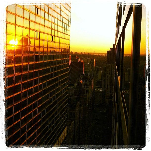 Sunset in #NYC. #travel: Sunsets, Jetpac S Instagram, Travel, Nyc, Instagram Photos